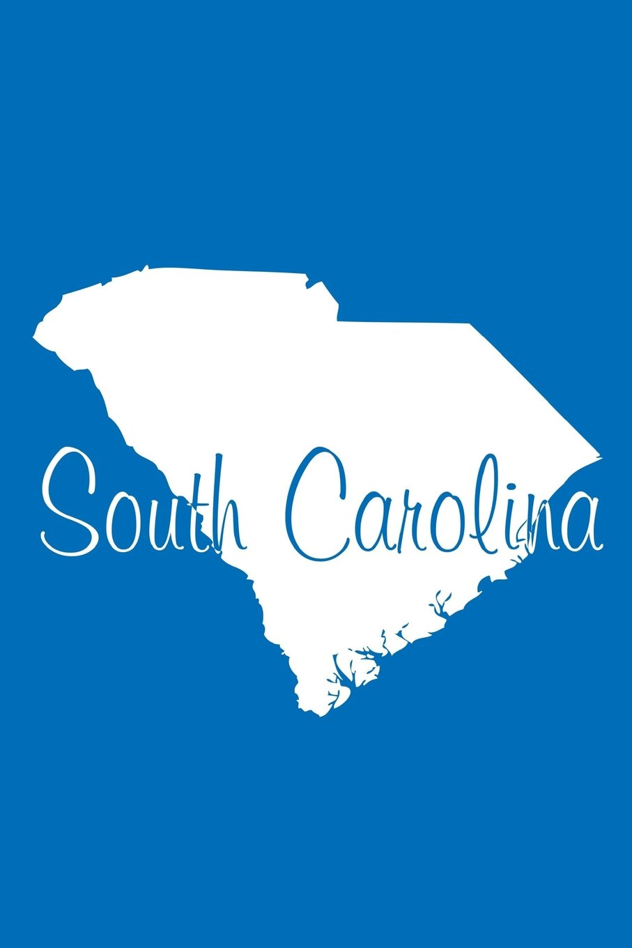 Download South Carolina - Cobalt Blue Lined Notebook with Margins: 101 Pages, Medium Ruled, 6 x 9 Journal, Soft Cover pdf