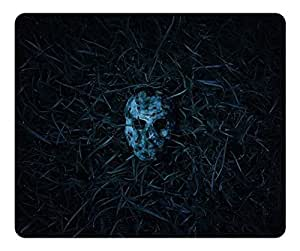 Brain114 High Quality Textured Surface Creepy Mask Non-Slip Rubber Mousepad Durable Gaming Mouse Pads