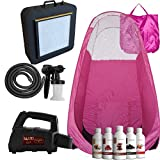 extractor fan Maximist SprayMate TNT Delux Tanning Kit - Inc. SprayMate TNT, Pop-up Tent, Extractor Fan & Suntana lotions (Kit with Pink Tent)