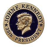 John F. Kennedy 35th President Lapel Pin / Hat Tac