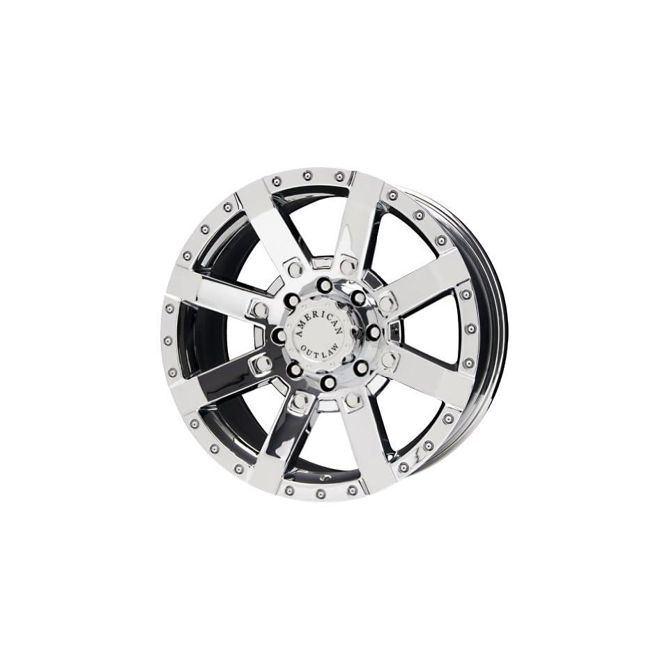 American Outlaw TnT Series Chrome Wheel (20x9/8x170mm)