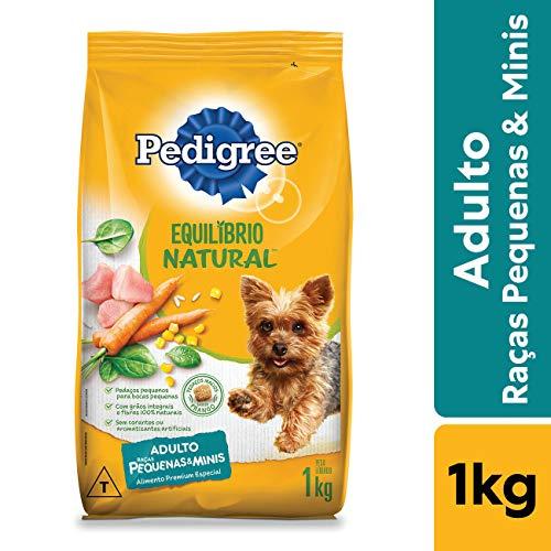 Ração Para Cachorros Pedigree Equilíbrio Natural Adultos Raças Pequenas e Minis 1kg
