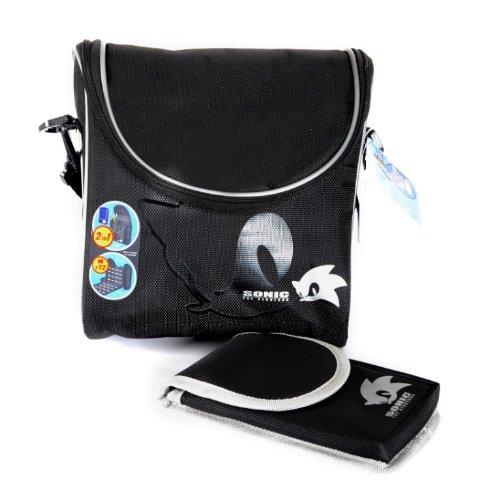 Sonic The Hedgehog Pro Gamer Case - Black (Nintendo 3DS X...