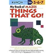 My Book of Mazes: Things That Go! (Kumon Workbooks)