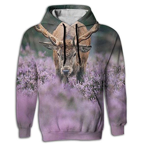 Blossom Chandelier 11 Light (Men's Wildlife Blossom Red Deer Awesome Fashion Pullover Hoodie With Pocket)