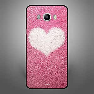 Samsung Galaxy J7 2016 Pink with white heart
