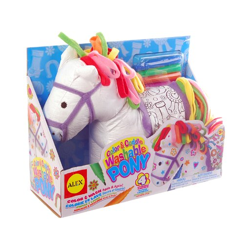 ALEX Toys Craft Color and Cuddle Washable Pony Only $7.58