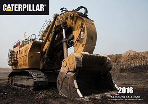 Caterpillar 2016: 16-Month Calendar September 2015 through December 2016