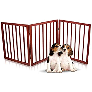 Hoovy Original Child & Pet Gate | Best Walk-Through Baby Safety Gate with Quick-Release Sliding Door Lock | Stairway, Hallway, Room Divider for Small Kids & Dogs | Goes with Home Decor 70