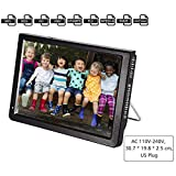 "Portable Small TV,Acogedor 12"" ATSC Digital Television,1080P HD HDMI Video Player for Home"