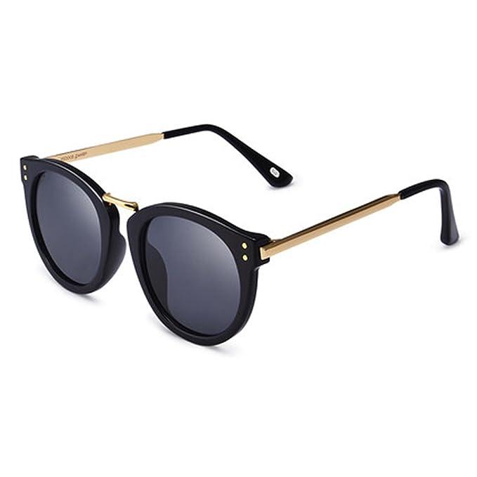 CH ZYTYJ ZY Gafas de sol nuevas gafas de sol polarizadas accesorios de metal  mujer gafas redondas c520b78e00cb