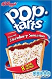 Kellogg's Pop Tarts Strawberry Sensation (8x50g) - Pack of 6