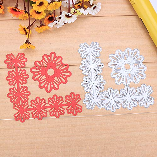 2Pcs/Set Flower Lace Corners Metal Cut Cutting Dies Mold Tool Stencil for Handmade DIY Craft Scrapbooking Scrapbook Photo Album Embossing Paper Cards Decorative Crafts ()