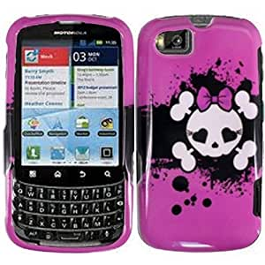 Compatible with Motorola Admiral XT603 Design Cover - Pink Skull