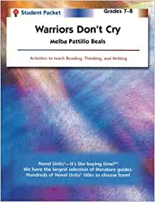 warriors don t cry essays Title: length color rating : melba pattillo beals' warriors don't cry essay - warriors don't cry begins when melba and eight other black men and women in their.