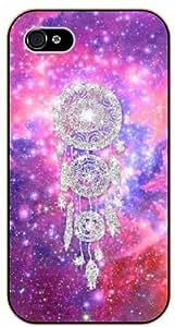 LJF phone case Dreamcatcher, deep pink nebula - iPhone 5 / 5s black plastic case / Inspiration