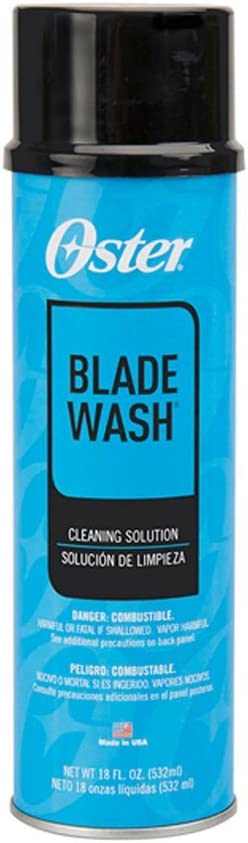 Oster Blade Wash Cleaning Solution for Clipper Trimmer Blades 18 oz CL-76300103