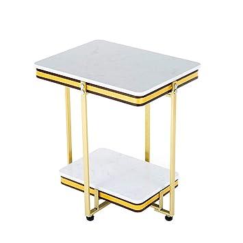 Haizhen Tables Basses Table Basse à 2 Niveaux Table D Appoint