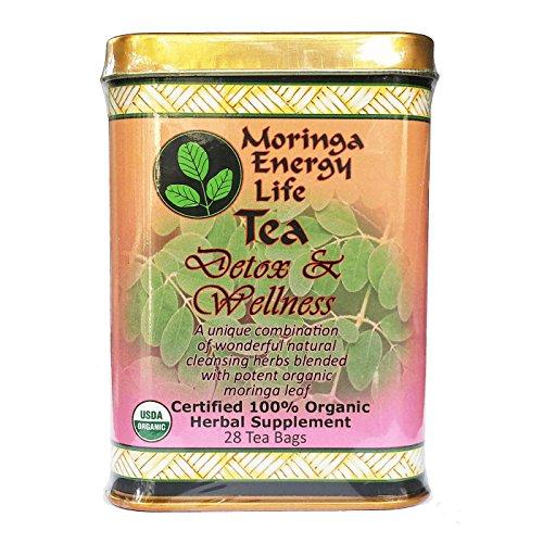 MORINGA DETOX WELLNESS TEA Combination product image