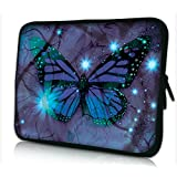 SHINICE Laptop Sleeve 13 inch 13.3 Notebook Sleeve Laptop Case Cool Fashion Design with Beautiful Lovely Butterfly