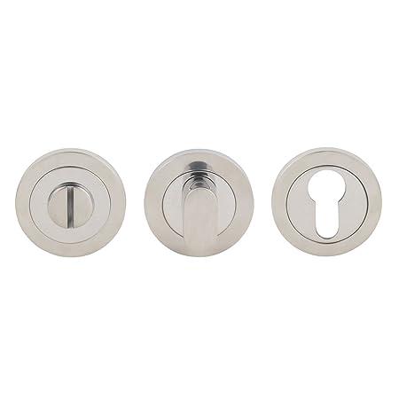 Serozzetta Bathroom Thumbturn Release Bright Stainless Steel 52mm