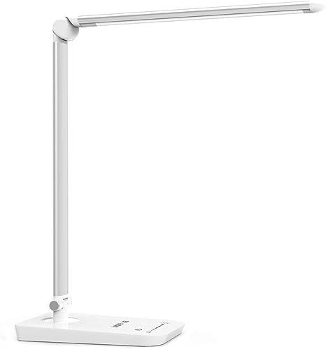 Le 8 W Dimmable Led Desk Lamp 7 Level Brightness Touch Sensitive Control Folding Table Lamps Reading Lamps Bedroom Lamps Amazon De Lighting