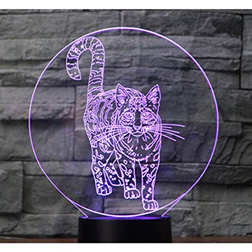 Orangeww Lámpara de ilusión 3d / Luz de noche de regalo de ...