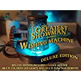 The Greatest Showman Wishing Machine - Movie Inspired Spinning Illuminated Lamp - Deluxe Edition