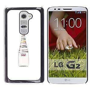 For LG G2 / D800 / D802 / D802TA / D803 / VS980 / LS980 Case , Bottle Fresh Art Colors Healthy - Diseño Patrón Teléfono Caso Cubierta Case Bumper Duro Protección Case Cover Funda