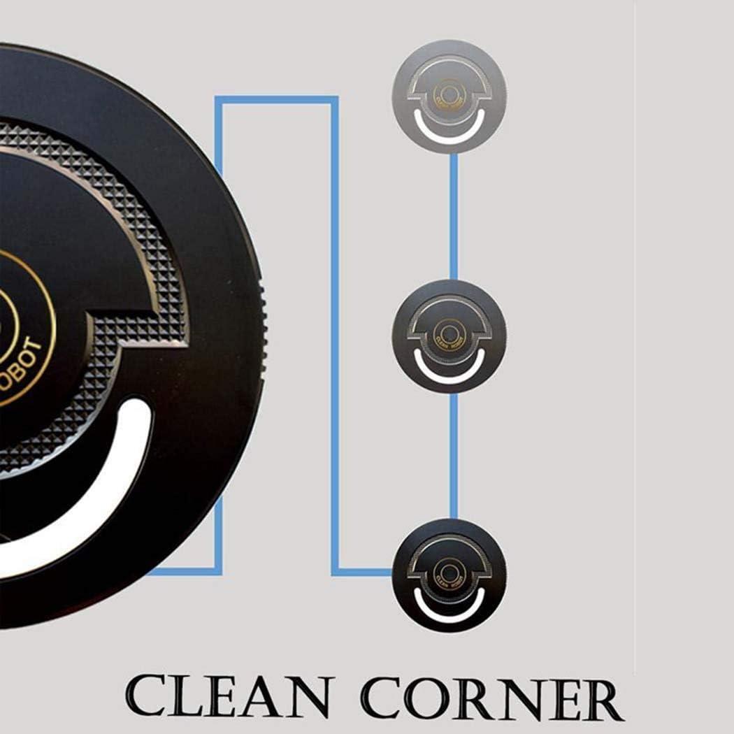 Aspirateur Portable Home Petit Robot Nettoyeur Balayer Machine de balayage de contrôle à distance entièrement automatique LMMS (Color : B) A