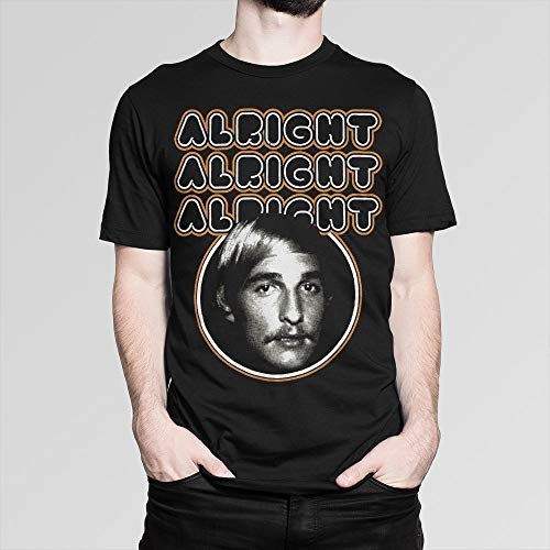 Dazed and Confused Matthew McConaughey T-Shirt, Alright Tee, All Sizes
