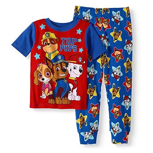 AME Paw Patrol Nickelodeon PJS Pajama Sleep Wear Set for Toddler Boys 3T,Blue