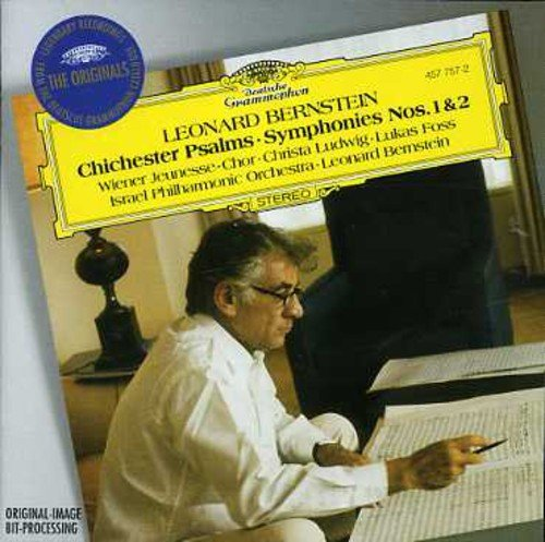 Chichester Psalms / Symphony 1 & 2 (Book Chichester Psalms Music Bernstein)