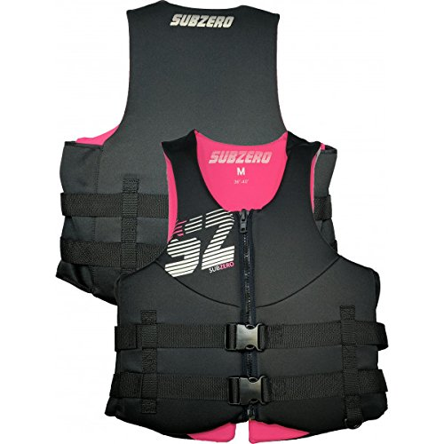 "Sub Zero Neoprene Life Jacket Womens Pink/Black XXL 52"" -56"" chest"