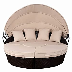 51ceVRLWvML._SS300_ 75+ Outdoor Wicker Daybeds For Your Patio For 2020