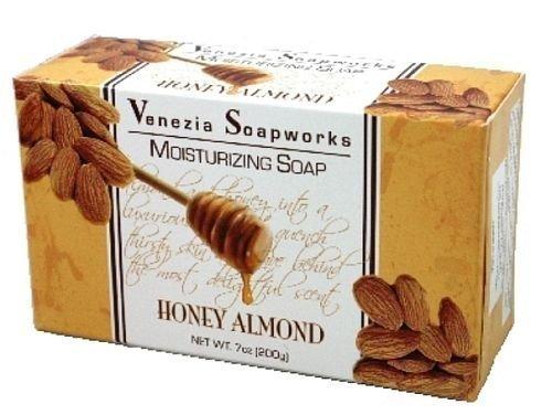 Venezia Set - 2 Bar Set Venezia Soapworks Moisturizing Soap Honey Almond - 7 ounces each