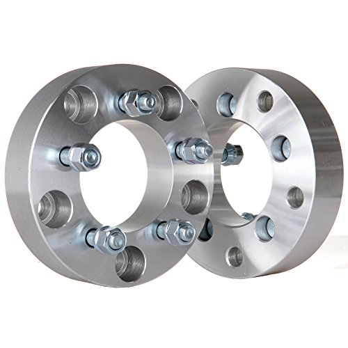 ECCPP 2X 1.5 Wheel Spacers Adapters 5 lug 5x5.5 to 5x4.5 38mm for Dodge Ford Series with 1/2