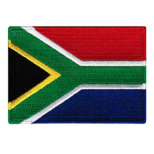 South Africa Flag Embroidered Patch African Iron-On National Emblem (Was South Africa Ever A British Colony)