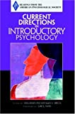 Current Directions in Introductory Psychology, Saul Kassin, 0205579574