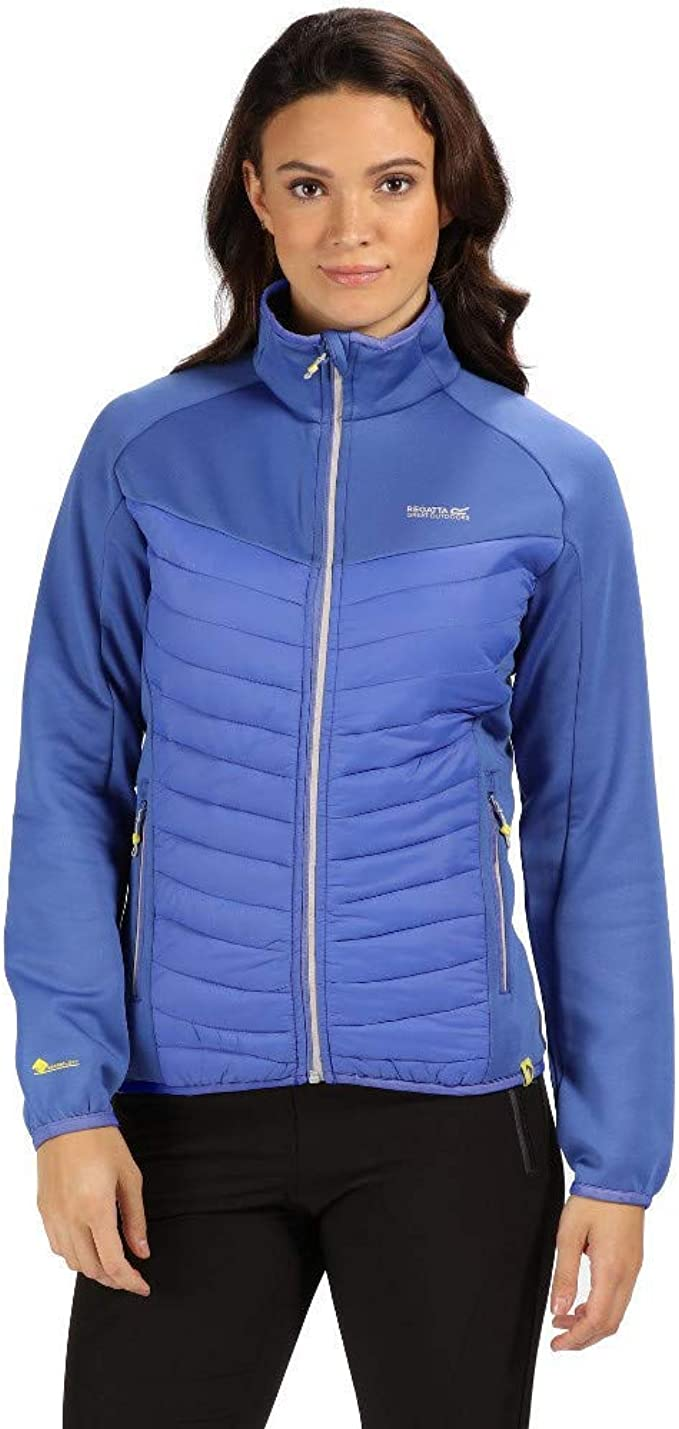 Regatta Damen Bestla Lightweight Water Repellent and Insulated Hybrid Down Jacke