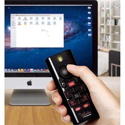3M Wp-7500 Plus Remote Control Wired Interface Rf with Mouse Pointer by 3M
