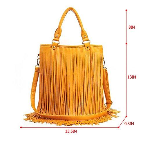 Messenger Bag Shopping Purse Shoulder Bag Bag Tote Canvas Women's Yellow Totes Travel Handbag Casual CY 8faZqx