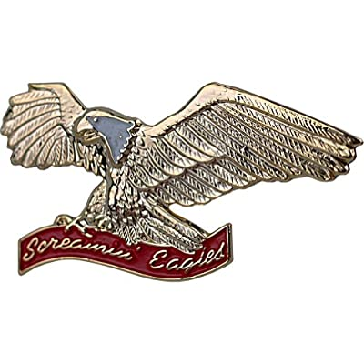 "Discount U.S. Army 101st Airborne Screaming Eagles 1 1/4"" Veteran Lapel Pin"