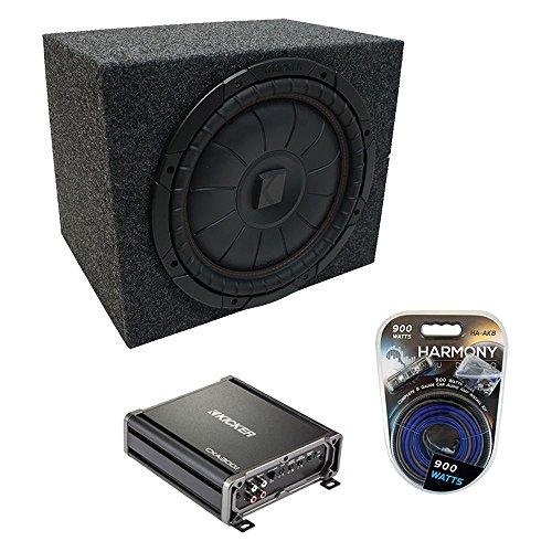Kicker Universal Car Stereo Rearfire Sealed Single 10