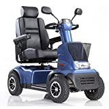 Afikim - Afiscooter C4 Breeze - Mid Size Mobility Scooter - 4-Wheel - Blue