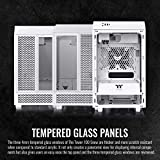 Thermaltake Tower 100 Snow Edition Tempered Glass