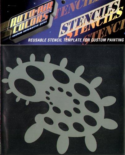 auto air colors stencils - 6