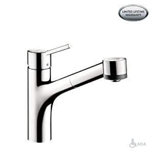 Talis S 2-Spray Kitchen Faucet, Pull-Out, 1.75 GPM