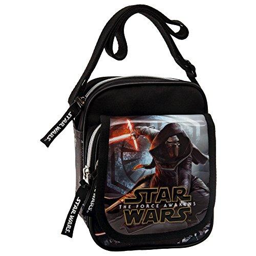 Star Wars 2355551 The Force Awakens Borsa Messenger, Litri 2.85, Nero