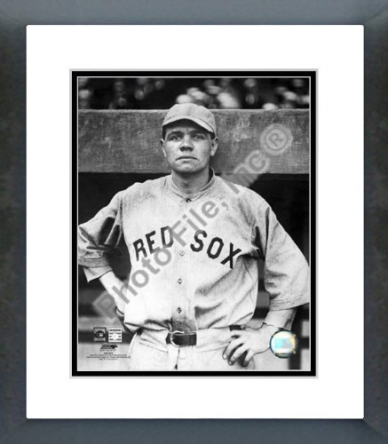 Ruth Framed Babe (Babe Ruth Boston Red Sox Framed Picture 8x10)